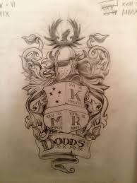 dodds family crest design