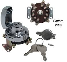 need 6 pole ignition switch wiring diagram or description harley