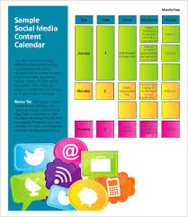 how to create and schedule a social media content plansocial media