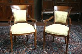 high back dining chairs with arms uk leather without room for