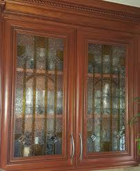 stained glass kitchen cabinet doors kitchen cabinet glass inserts casa loma art glass