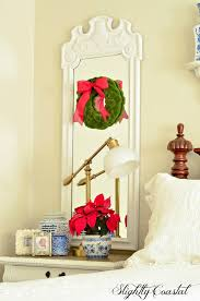 French Country Coastal Decor Christmas In The Master Bedroom A Mini Reveal Slightly Coastal