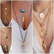 necklace shirt images How to accessorize a plain white shirt pinterest long gold jpg