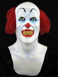 Pennywise Halloween Costume Pennywise Scary Clown Halloween Mask Prop Gp 26580