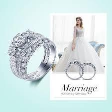 style wedding rings images Wholesale wedding rings vintage style victorian art deco 1 5 ct jpg
