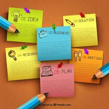 note paper vector free download