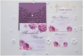 Wedding Invitations Purple Sparkling Events U0026 Designs I Dmv Dc Virginia Maryland Wedding