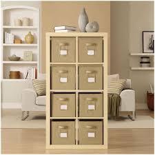 Wall Storage Shelves Shelf Unit With Wicker Baskets Kitchen Cabinets Tall Unit Storage