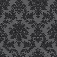 Silver Metallic Wallpaper by Arthouse Opera Byron Black Wallpaper Departments Diy At B U0026q