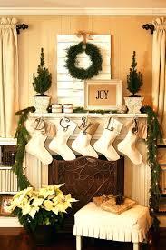 Chimney Decoration Ideas Decorations Christmas Mantel Decorating Ideas Martha Stewart