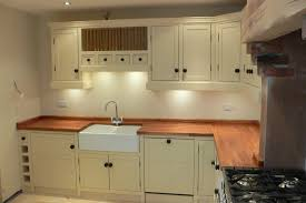 freestanding kitchen units with wooden work surfaces the olive