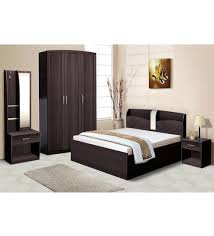 Nilkamal Bedroom Furniture Nilkamal Imperial Wenge Bedroom Combo Set 3 Door Wardrobe