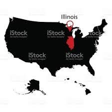 State Of Illinois Map by Map Of The Us State Of Illinois Stock Vector Art 694943982 Istock