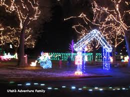 layton lights in the park utah s adventure family