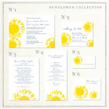 sunflower wedding programs sunflower wedding programs on seeded paper foreverfiances