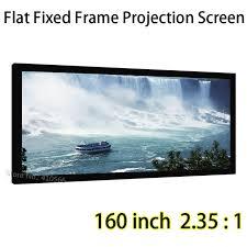 projektionsfläche hd projektionsfläche 160 zoll 2 35 1 festen rahmen