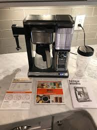 review ninja coffee bar at home in the future