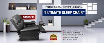 ultimate sleep chair