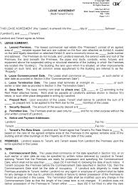 download washington commercial lease agreement form for free