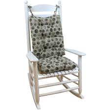 Rocking Chair Pad Rocking Chair Cushions For Added Comfort Of Rocking