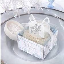 themed wedding favors 100pcs lot winter themed wedding favors snowflake scented soap