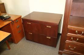 Mahogany Lateral File Cabinet Mahogany 2 Drawer Lateral File Cabinet 36 Inch Plano Used Office