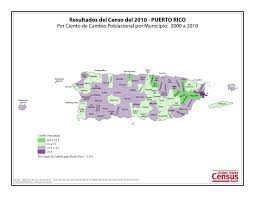 Pr Map Census 2010 News U S Census Bureau Delivers Puerto Rico U0027s 2010