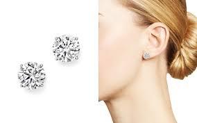women s designer stud earrings bloomingdale s
