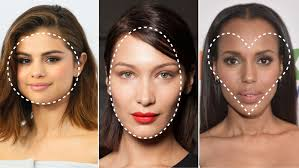 hair cuts for heavy jaw line what is my face shape 3 steps to finding your face shape allure