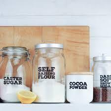 really useful u0027 pantry labels flour sugar and salt by bread u0026 jam