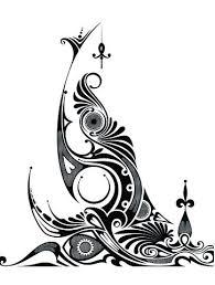 hawaiian tribal animal tattoo