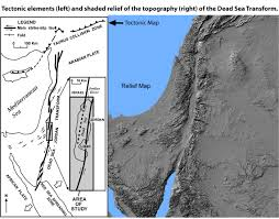 Map Of The Dead Peace And Science In The Middle East Tectonics
