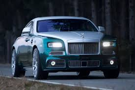 rolls royce ghost mansory lavish rolls royce wraith by mansory revealed auto express