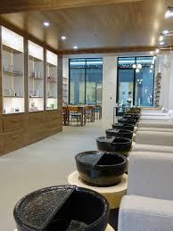 take a quick peek inside tenoverten u0027s first non toxic nail salon