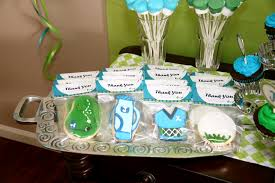 real parties golf birthday party x 2 frog prince paperie