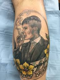 Disigen by Thomas Shelby Peaky Blinders Tattoo Cillian Murphy By Helena