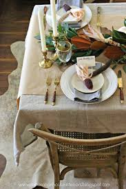 tablescapes of thanks the potted boxwood