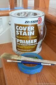 Best Paint For Stair Banisters The Best Primer Ever Painting Stair Spindles And Stair Risers