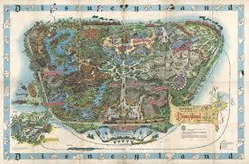 Disney World Park Maps Disneyland 1940 Neogeography Carto Infography Pinterest