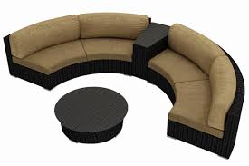 Curved Patio Sofa by Modern Curved Sofa Reviews Curved Outdoor Sofa Set