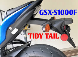 gsx s1000 tail light gsx s1000f fender eliminator install how to install gsx s1000f tidy