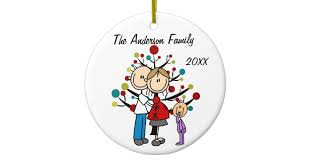 expectant with custom ornament zazzle