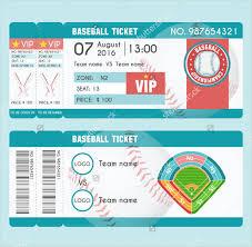 9 baseball ticket templates free psd ai vector eps format