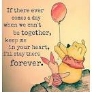 Image result for pooh heart forever quotes