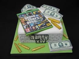 Gta 5 Birthday Cake My Son U0027s 14th Birthday Cake He Loves U2026 Flickr