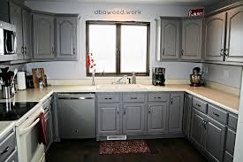 Rose Cabinets Updated Gray Kitchen St Rose Il U2014 Dba Custom Woodworking