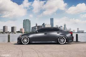 stanced lexus is250 lexus is250 velgen vmb5 satin silver concave wheels pk auto design