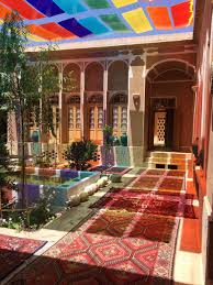 a traditional style of iranian house ey iran ey marze por gohar