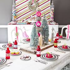 Christmas Table Decoration Ideas For Parties by 51 Best Holiday Tables Images On Pinterest Christmas Table