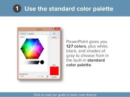 how to choose colors how to create your own color theme for your powerpoint presentation